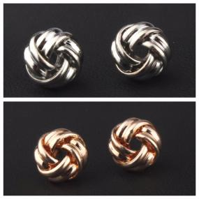 GRADUATION GIFT....Love Knot Studs...FREE SHIPPING