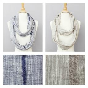 Solid Thread Oblong Cotton Scarves.....FREE SHIPPING