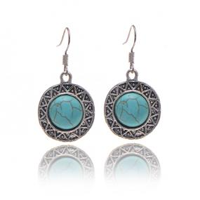 Turquoise Drop Earrings......FREE SHIPPING