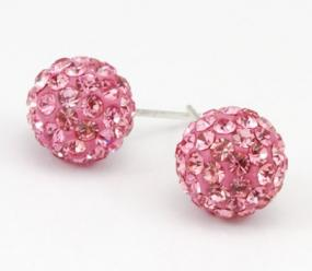 Set of 3 Pave Shamballa Studs $8.99....FREE SHIPPING