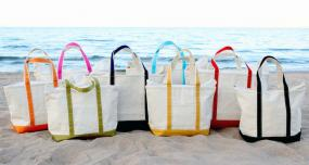 Extra Large Pool/Beach Tote Bags with Zipper Top.....FREE SHIPPING