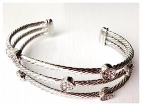 Silver Rope Confetti Bracelet....FREE SHIPPING