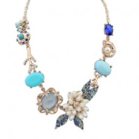 Spring Bohemian Necklace....FREE SHIPPING