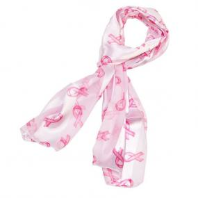 Pink Ribbon Awareness Scarf......FREE SHIPPING
