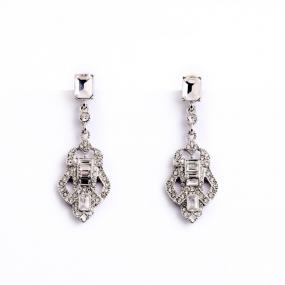 Vintage Style Hollywood Drop Earrings....FREE SHIPPING