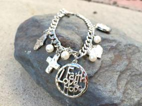 Faith Love Hope Bracelet with FREE SHIPPING