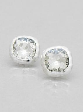 Square Glass Studs FREE SHIPPING