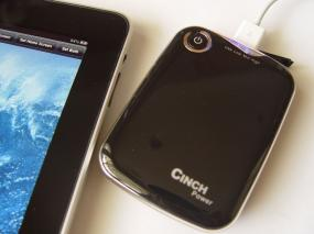 Cinch 5000mah external battery for All Smart Phones & Apple iPhone : CP525S (Apple lightning cable i