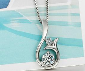Crystal Mermaid Pendant Necklace.....FREE SHIPPING