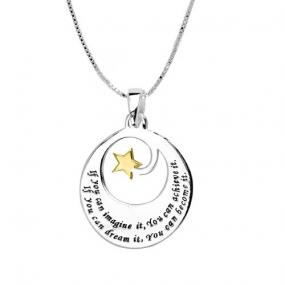If you Can Imagine It Necklace-FREE SHIPPING