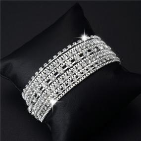 GRADUATION GIFT......Crystal Multi Layer Bracelet ...Free Shipping
