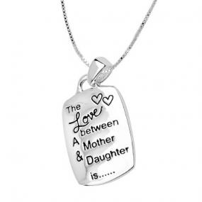Fun Love Between A Mother and Daughter Necklace.....FREE SHIPPING