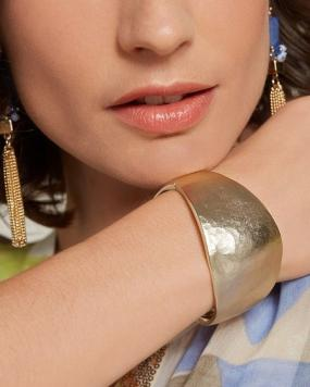 Matte Gold Bangle Cuff......FREE SHIPPING