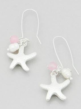 Starfish Hook Earrings FREE SHIPPING