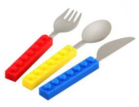 Building Block Fork, Knife and Spoon Set- Free Shipping