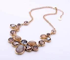 Earthtone Statement Necklace - FREE SHIPPING