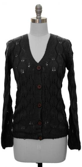 All Occasion Black Cardigan- Free Shipping
