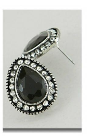 Jessica Crystal Earrings - Free Shipping