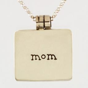 CLOSEOUT - Mom Locket Necklace - FREE SHIPPING