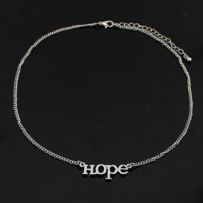 Hope Necklace in Silver and Gold - Free Shipping