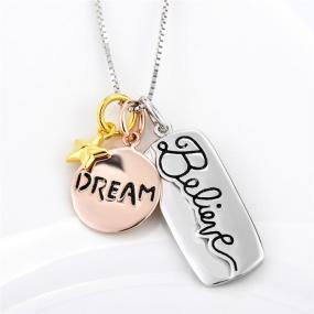 Believe and Dream Necklace - Free Shipping