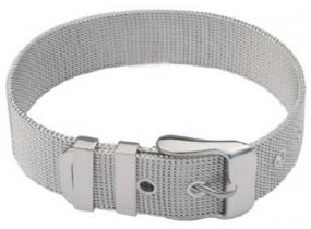 Mesh Silver Buckle Bracelet - Free Shipping