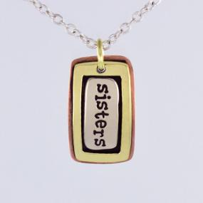 Sisters Pendant Necklace - Free Shipping