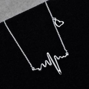 Heartbeat Necklace in Silver and Gold