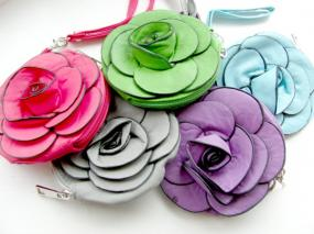 Limited Stock- Flower Change Purses