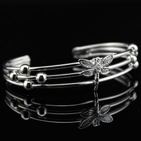 Limited Stock- Dragonfly Cuff Bangle