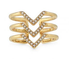 Pave Spear Ring - Free Shipping