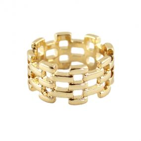 Woven Gold Ring - Free Shipping