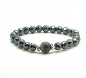 Amethyst Magnetic Bracelet - Free Shipping