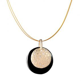 Double Disc Medallion Necklace - Free Shipping