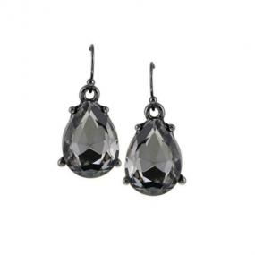Precious Teardrop Earrings in 3 Stone Choices - Free Shipping