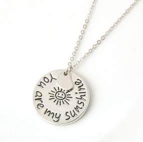 You Are My Sunshine Necklace - Free Shipping
