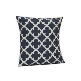 Geometric Pillow Covers in Navy and Gray  - Free Shipping
