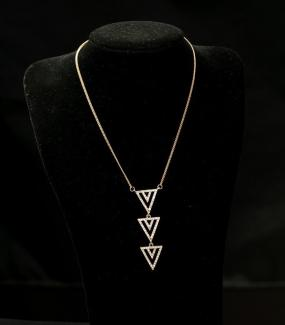 Pave Spear Necklace - Free Shipping