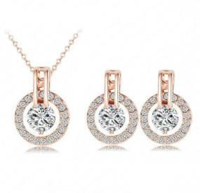 noraBleu Rose Gold Jewelry Set - Free Shipping