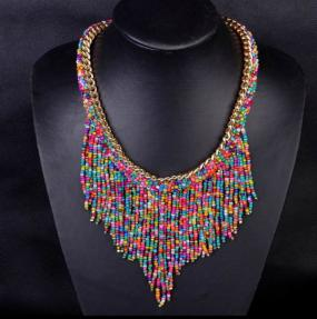 Bohemian Beaded Necklace - Free Shipping