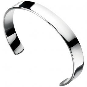 Classy Silver Cuff Bracelet - Free Shipping