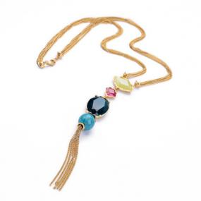 Statement Tassel Necklace - Free Shipping