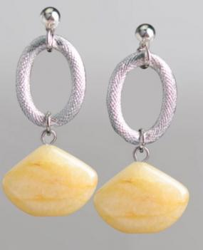 Crescent Drop Earrings in 2 Colors - Free Shipping