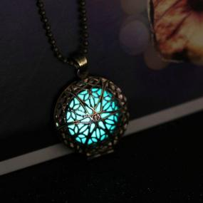 Vintage Glow Pendant Necklace - Free Shipping