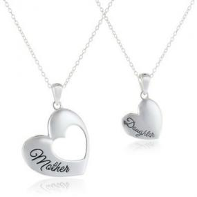 Mother and Daughter Necklace Set - Free Shipping