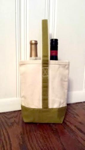 Natural Wine Tote - Free Shipping