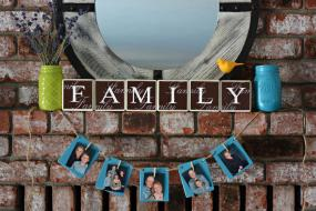 Rustic Wood Photo Banner