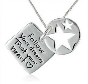 Follow Your Dreams Necklace - Free Shipping