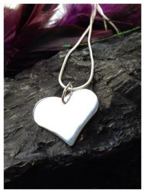 Deals for a Penny, Just Pay Shipping - Silver Heart Necklace