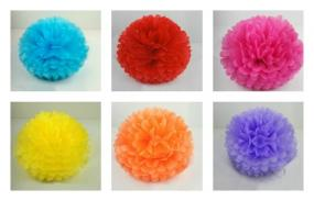 Deals for a Penny, Just Pay Shipping - Extra Large Tissue Paper Party Poms